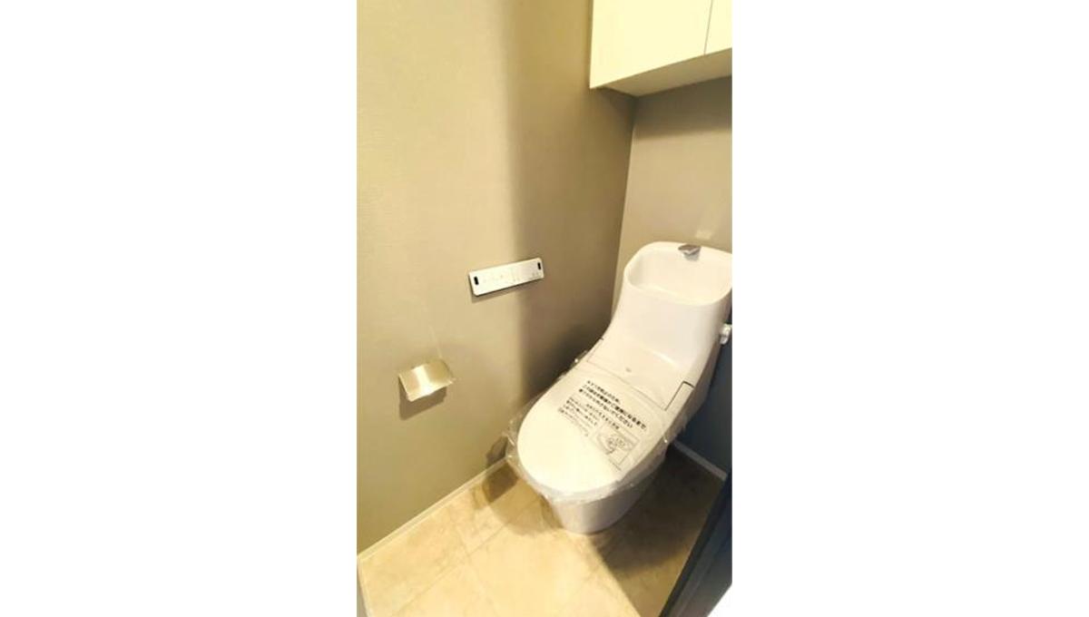 シティタワー武蔵小山レジデンス棟(ムサシコヤマ)のウォシュレット付トイレ