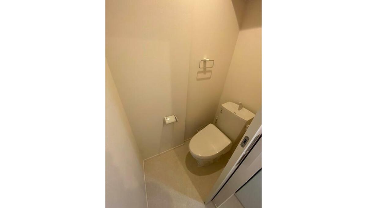 クラスカのウォシュレット付トイレ