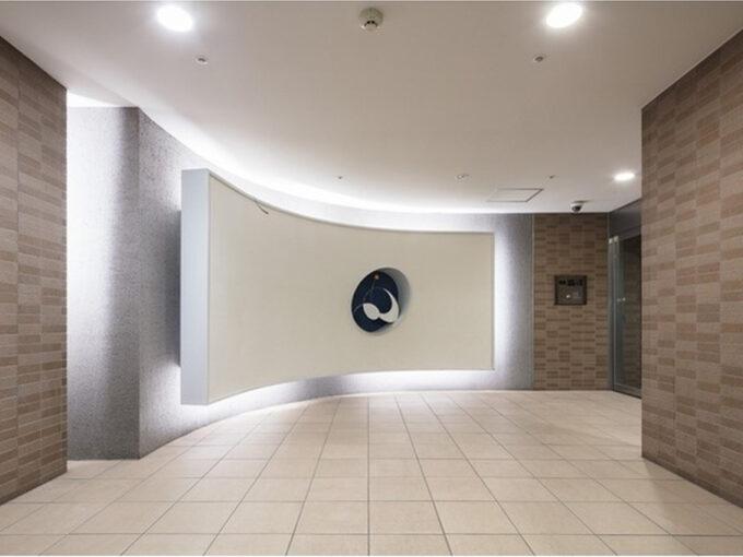 コンフォリア上池台(カミイケダイ)のエントランスホール