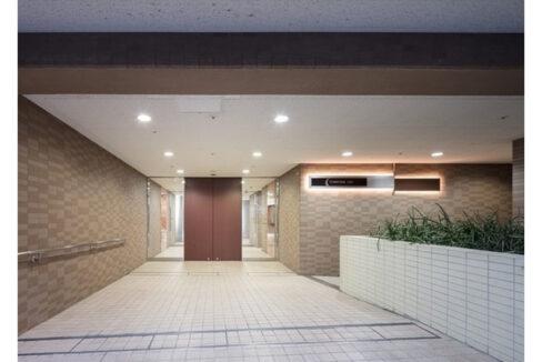 コンフォリア上池台(カミイケダイ)のエントランスアプローチ