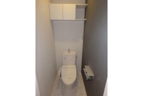 クレスト自由が丘(ジユウガオカ)のウォシュレット付トイレ