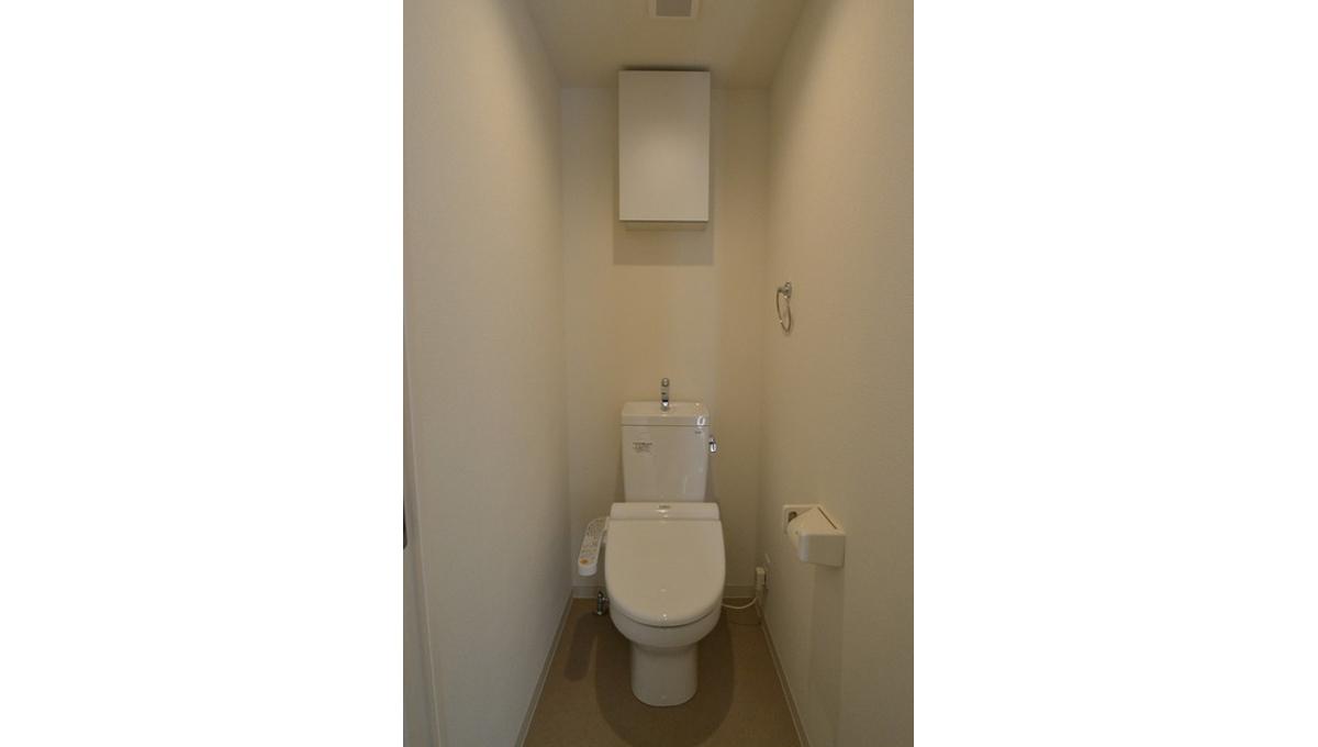 ダイヤモンドタワー西小山(ニシコヤマ)のウォシュレット付トイレ