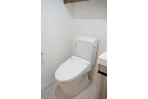 ディームス品川戸越(シナガワトゴシ)のウォシュレット付トイレ