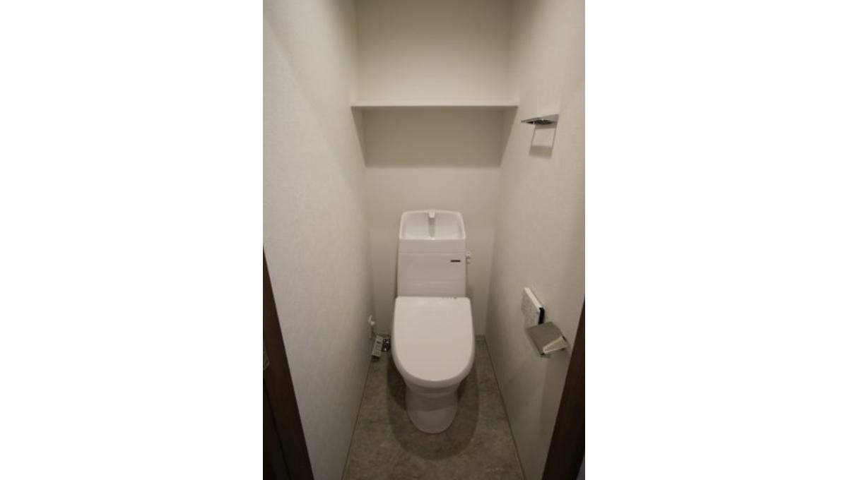 エディアン武蔵小山(ムサシコヤマ)のウォシュレット付トイレ