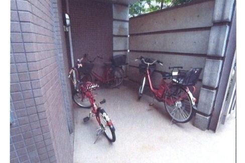 エストレーラの駐輪場