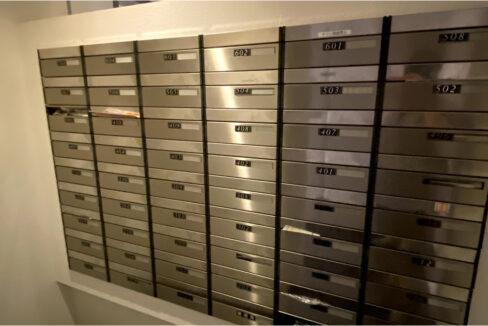 エスティメゾン武蔵小山(ムサシコヤマ)のメールボックス