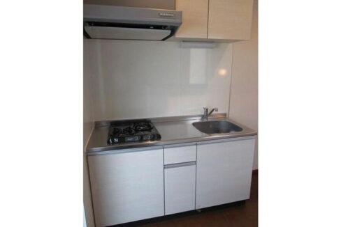 ファミールコガの2口ガスシステムキッチン