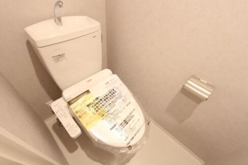 フラッツ奥沢エイト(オクサワ)のウォシュレット付トイレ