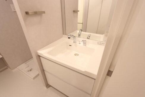 フラッツ奥沢エイト(オクサワ)の独立洗面台