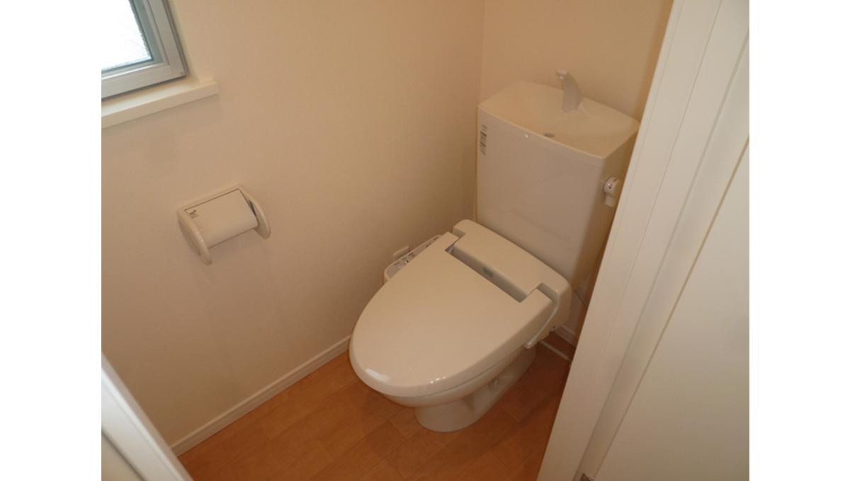 フローラパルのウォシュレット付トイレ