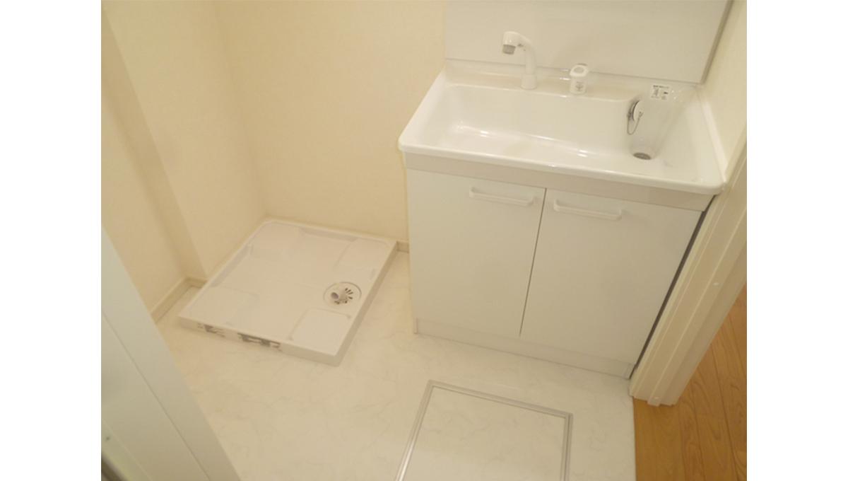 フローラパルの独立洗面化粧台