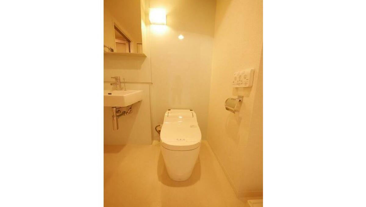 フロレスタ洗足(センゾク)のタンクレストイレ