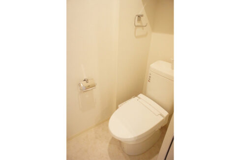 グラース洗足池(センゾクイケ)のウォシュレット付トイレ