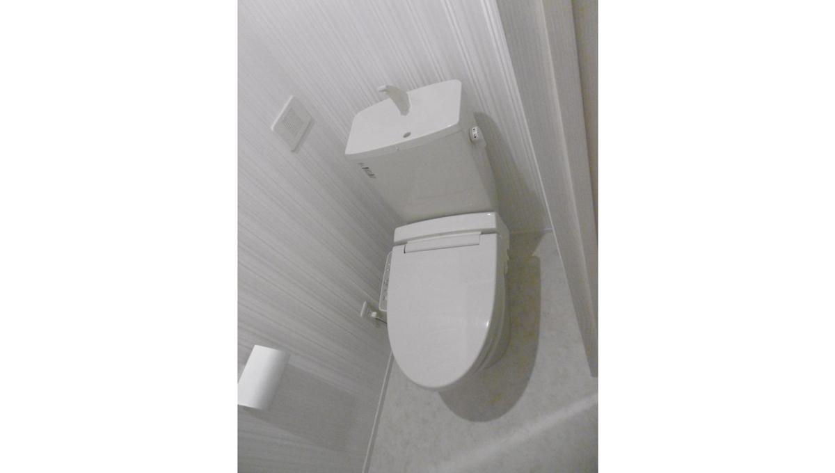 グランドニコスのウォシュレット付トイレ