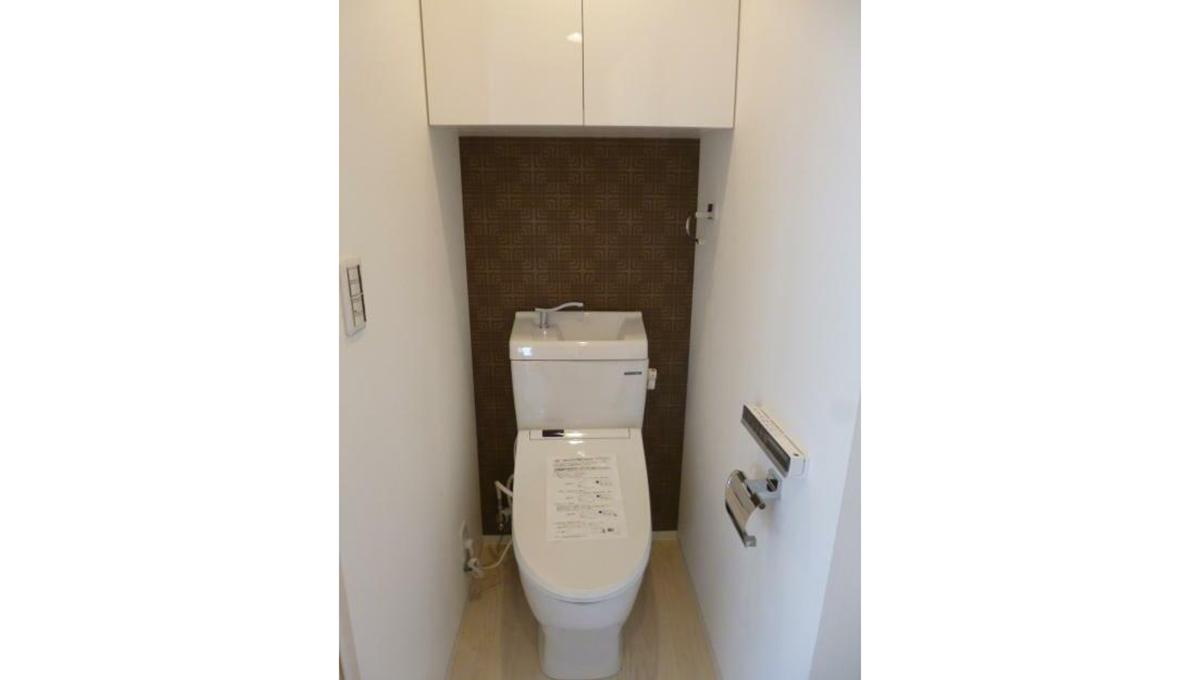 グランレイム目黒(メグロ)のウォシュレット付トイレ
