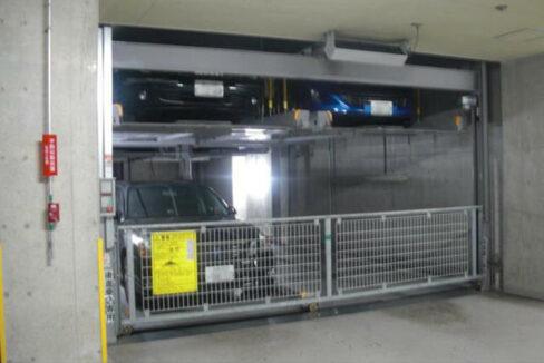 グランシティユーロレジデンス品川の杜(シナガワノモリ)の機械式駐車場