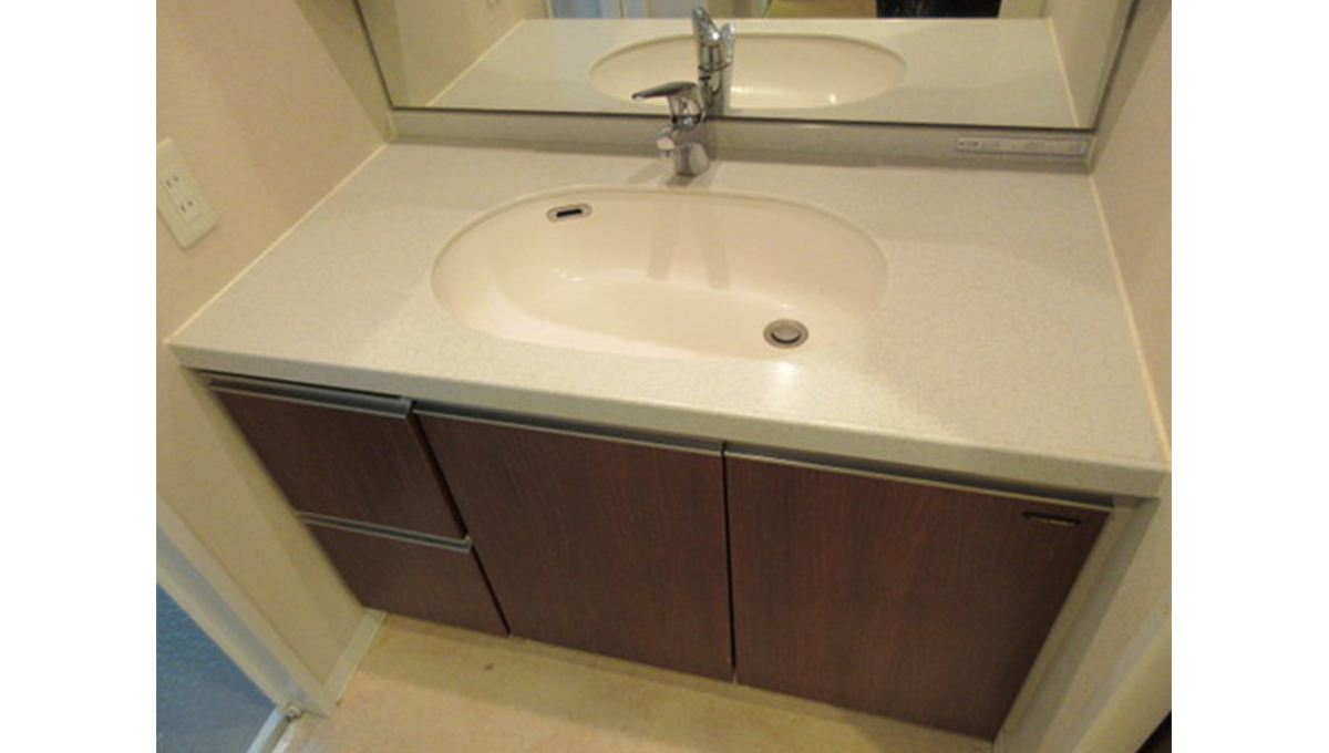 グランフォート洗足池(センゾクイケ)の独立洗面化粧台