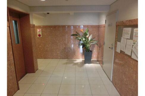グランウッズ自由が丘(ジユウガオカ)のエレベーターホール