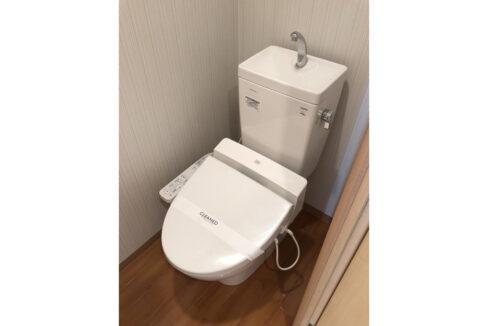 グランウッズ自由が丘(ジユウガオカ)のウォシュレット付トイレ