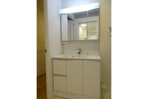 旗ヶ岡アパートメント(ハタガオカ)の独立洗面化粧台