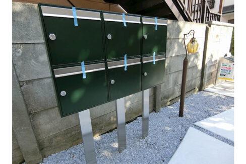 ハーミットクラブハウス自由が丘Ⅲ(ジユウガオカ)のメールボックス