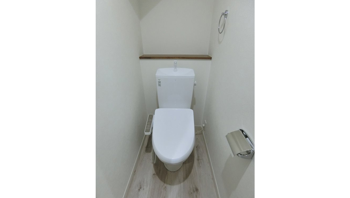 ハーミットクラブハウス自由が丘Ⅲ(ジユウガオカ)のウォシュレット付トイレ