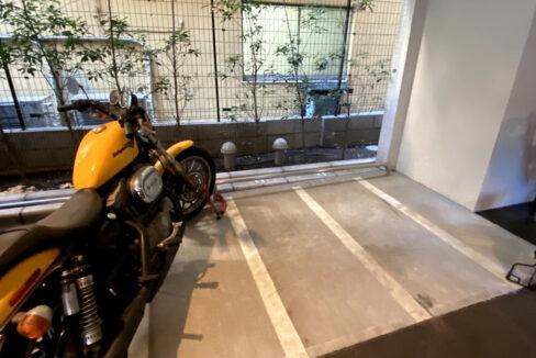 インプレストコア武蔵小山(ムサシコヤマ)のバイク置場
