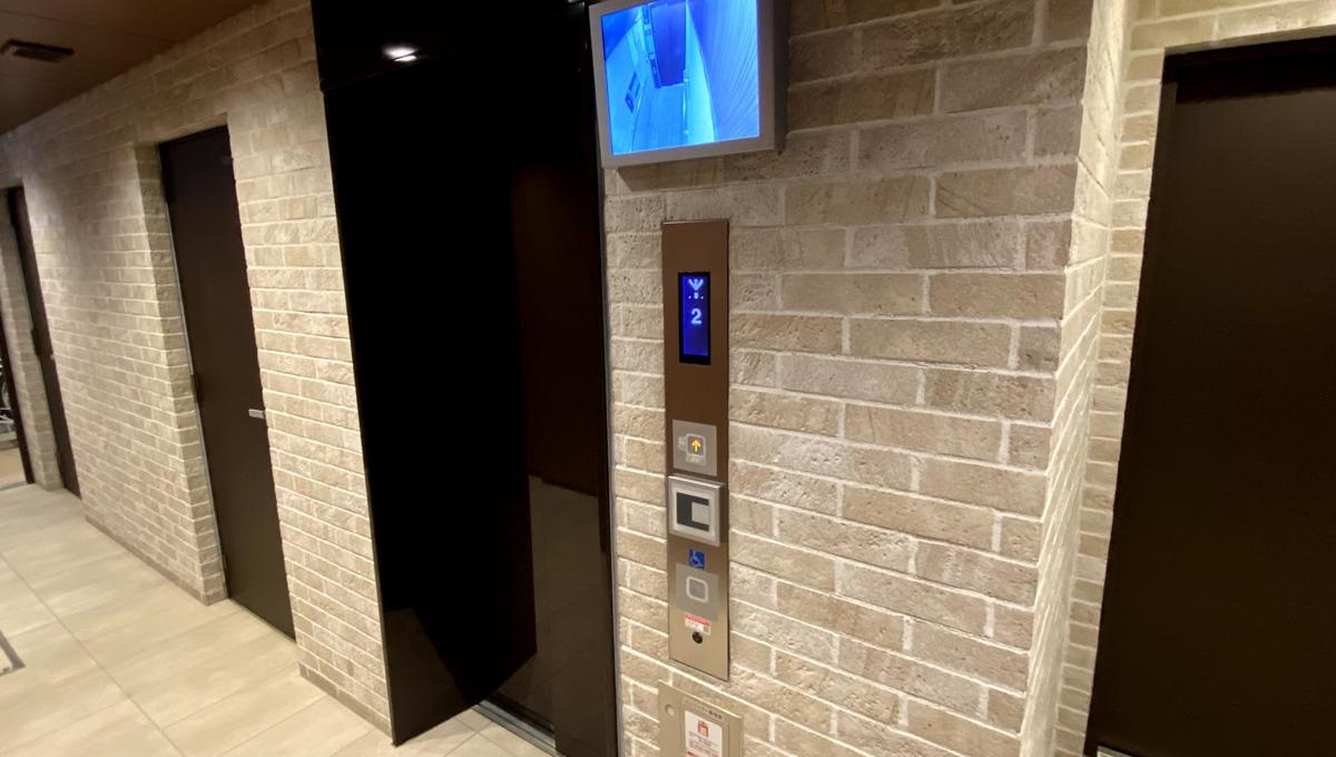 インプレストコア武蔵小山(ムサシコヤマ)のエレベーター