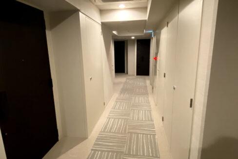 インプレストコア武蔵小山(ムサシコヤマ)の内廊下