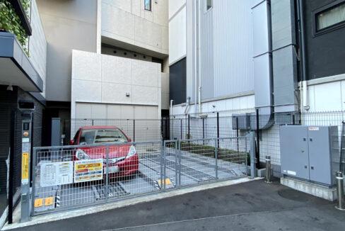 インプレストコア武蔵小山(ムサシコヤマ)の駐輪場