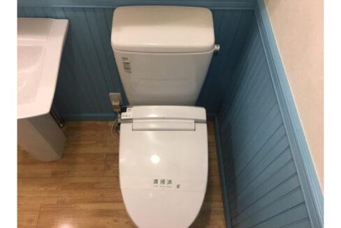 La Recolte 目黒南(ラ レコルト メグロミナミ)のウォシュレット付トイレ