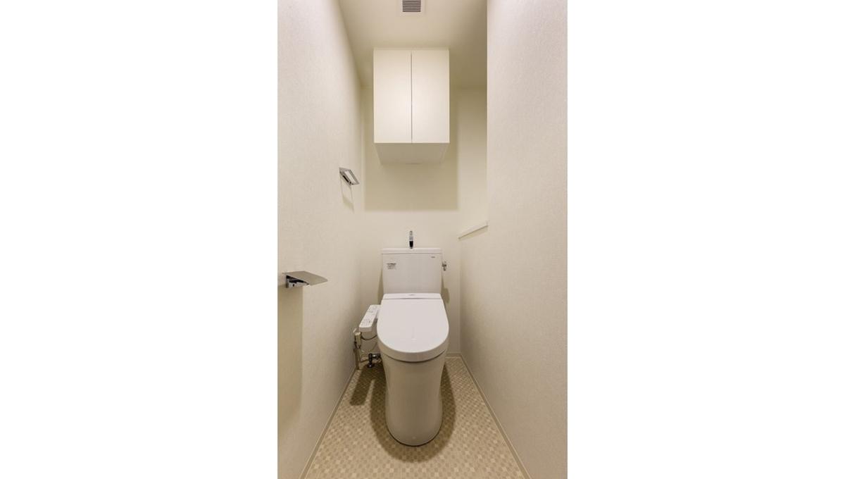 ラティエラ都立大学(トリツダイガク)のウォシュレット付トイレ