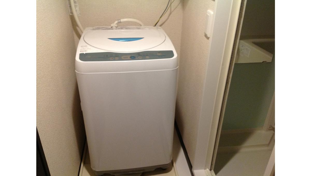 レオネクストグリーンライトの洗濯機