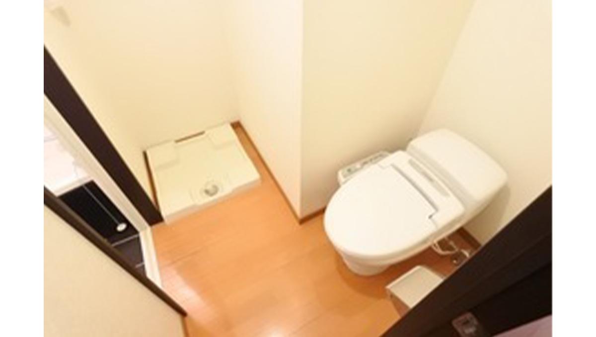 リブリ・自由が丘(ジユウガオカ)の洗濯機置場