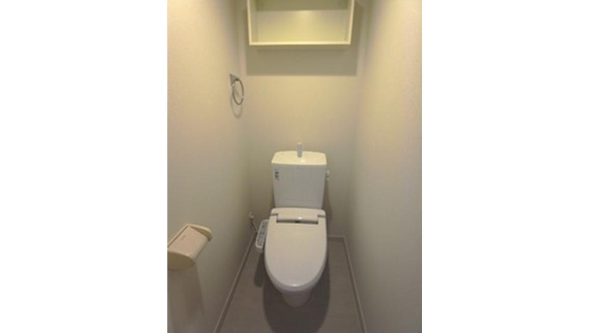 リブリ・K&W上池台(カミイケダイ)のウォシュレット付トイレ