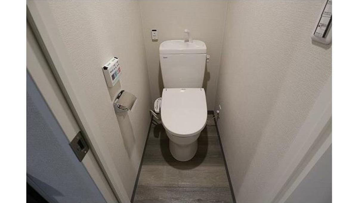 ロータス武蔵小山Ⅳ(ムサシコヤマ)のウォシュレット付トイレ