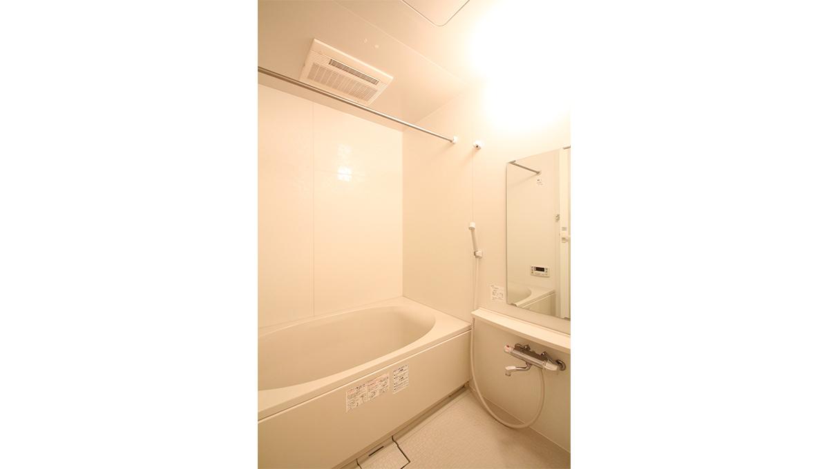 メゾンブランシェのバスルーム