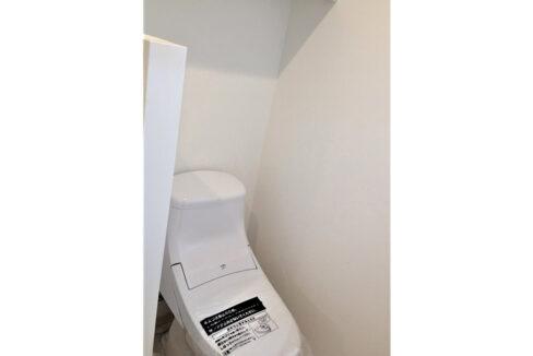 マノア二葉(フタバ)のウォシュレット付トイレ