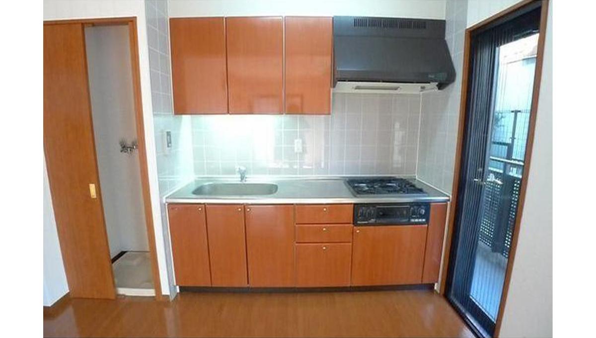 ミレニアム洗足(センゾク)の3口ガスキッチン