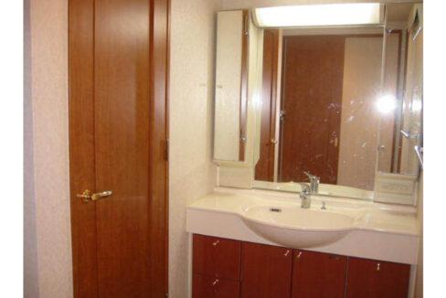 ミレニアム洗足(センゾク)の独立洗面化粧台