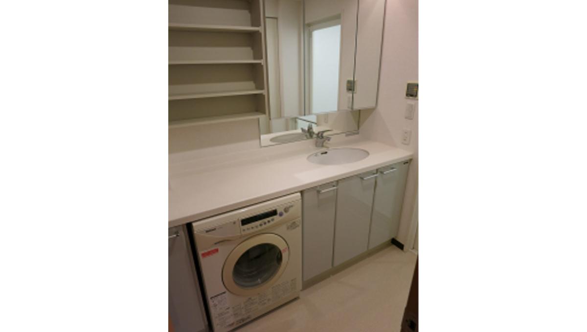 パシフィックコート目黒南(メグロミナミ)の独立洗面化粧台