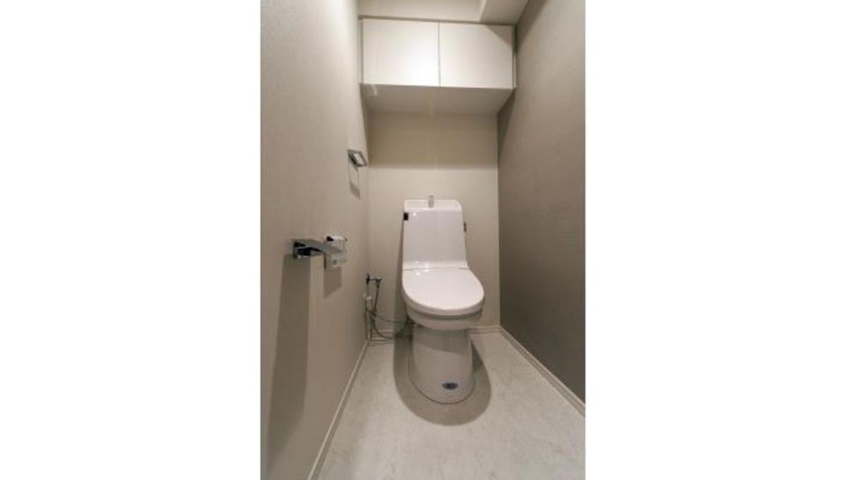 パークアクシス自由が丘テラス(ジユウガオカ)のウォシュレット付トイレ