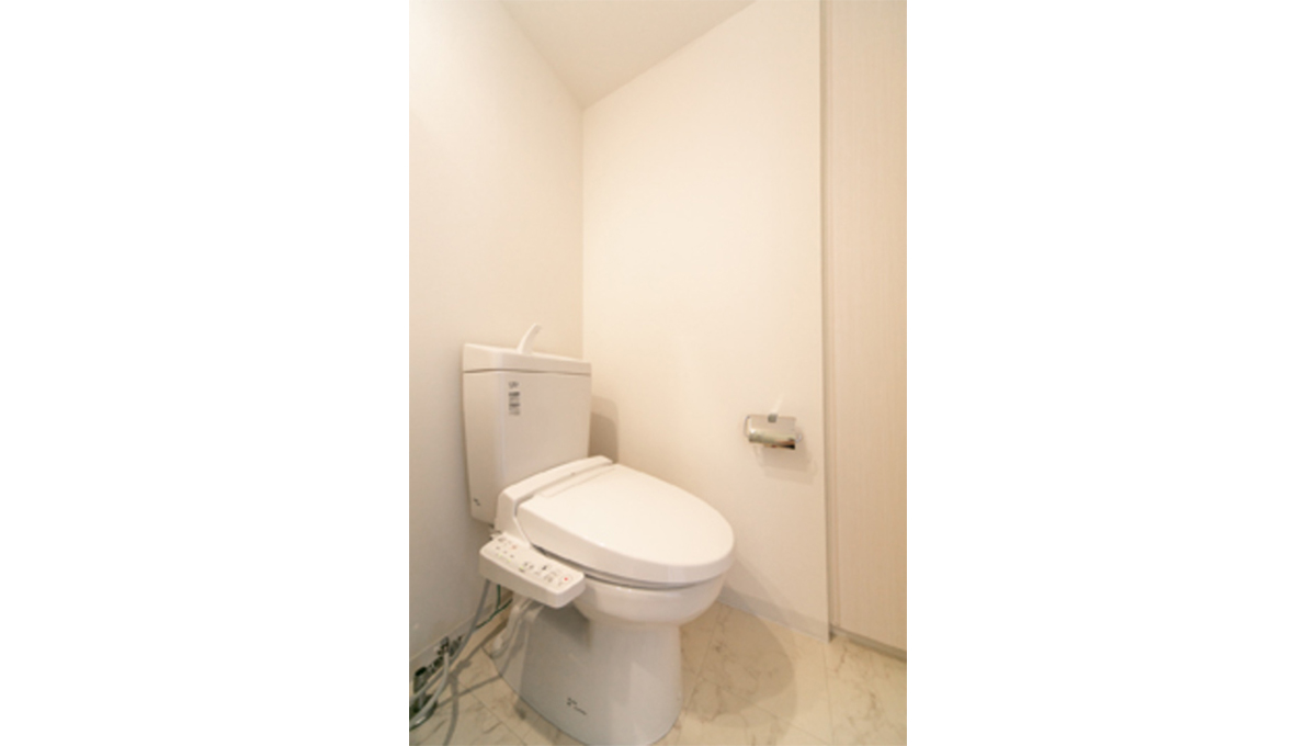 パークグレース自由が丘(ジユウガオカ)のウォシュレット付トイレ