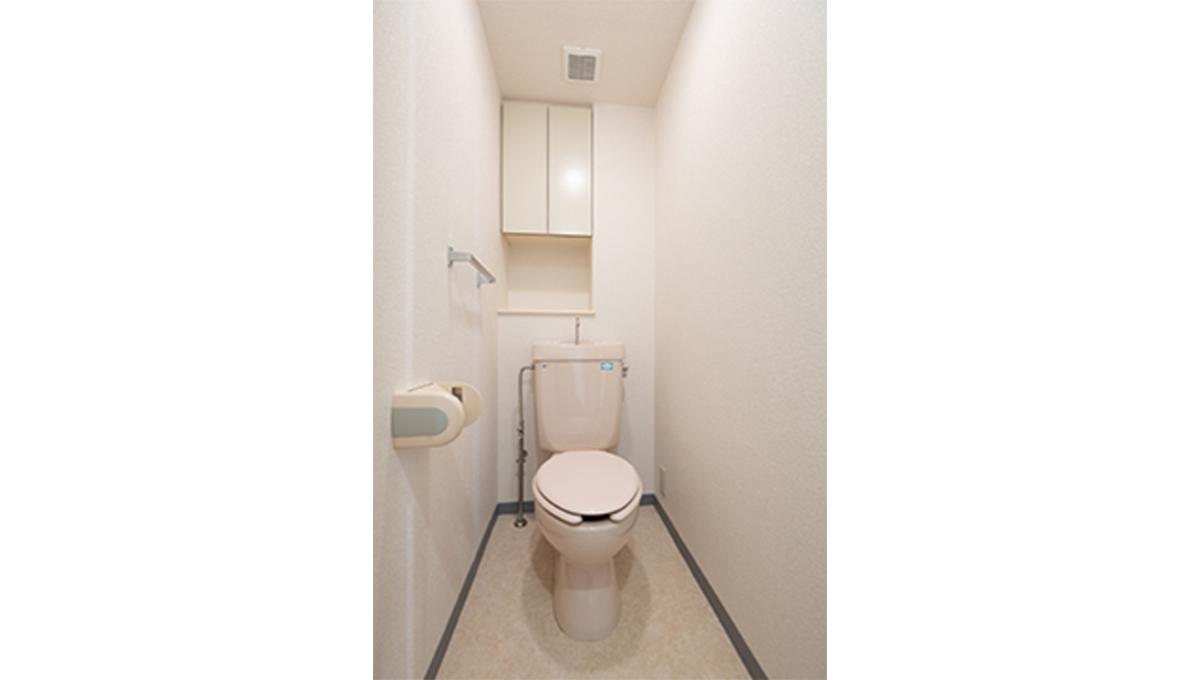 パークノヴァ洗足池(センゾクイケ)のトイレ