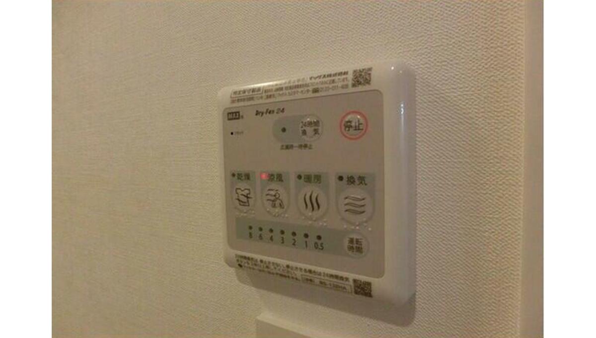 PASEO自由が丘(ジユウガオカ)の浴室乾燥機