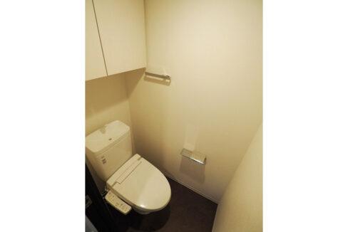 レジディア西小山(ニシコヤマ)のウォシュレット付トイレ