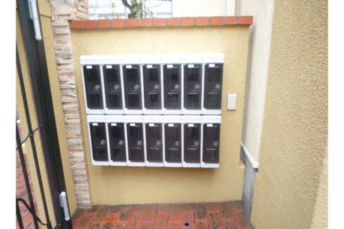 リヴェール武蔵小山(ムサシコヤマ)のメールボックス