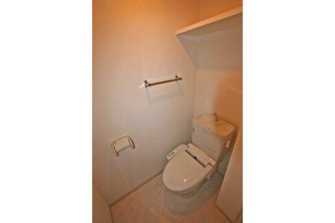 ロックフィールドのウォシュレット付トイレ