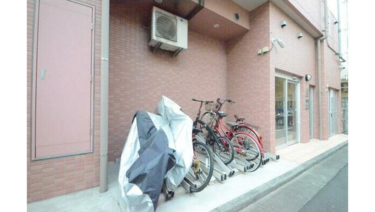 サンタグリュス武蔵小山(ムサシコヤマ)の駐輪場