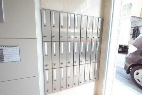 サンタグリュス武蔵小山(ムサシコヤマ)のメールボックス